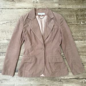 Stella McCartney Corduroy Blazer Jacket Tan 40